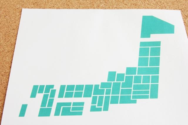 都道府県別のマップ