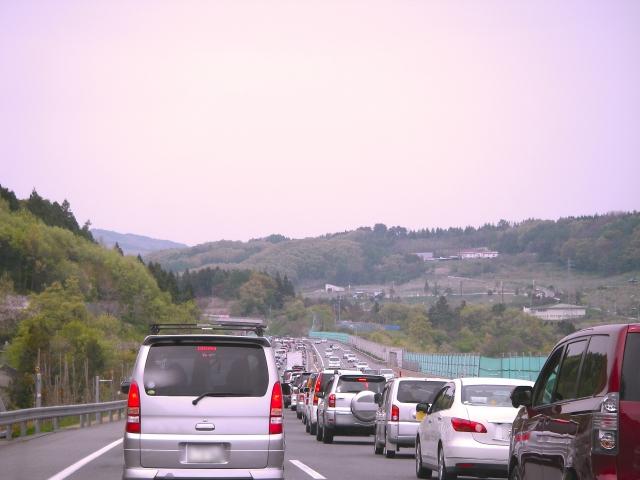 ゴールデンウィークの高速道路渋滞