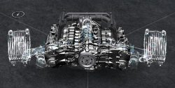 3.0L水平対向6気筒ターボエンジン